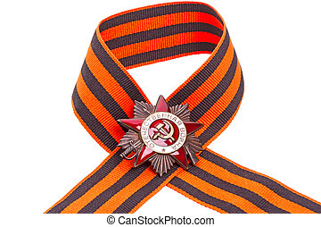 Order of the Patriotic War on ribbon