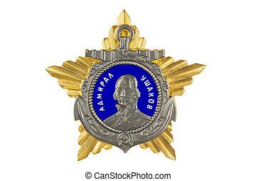Order of Ushakov II degree.