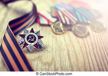 Order of World War USSR - military award for services to...