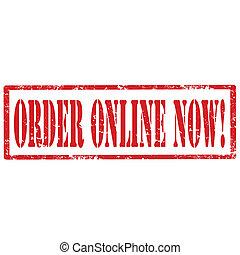 Order Online Now-stamp