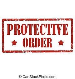 order-stamp, ochronny