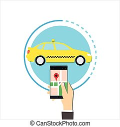 order taxi online