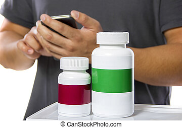 Ordering Supplements at an Online Pharmacy