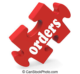 Orders Meaning Sales Purchases And Buying From Customers