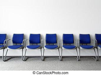 ordinario, sala de espera