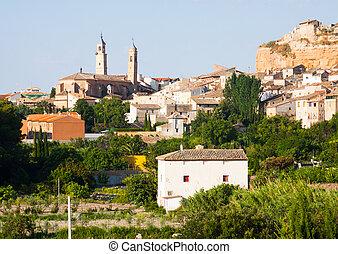 Ordinary spanish town. Borja