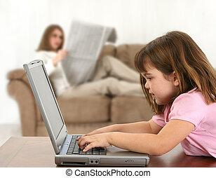ordinateur domestique, temps