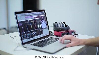 ordinateur portable, musique, type, fonctionnement, logiciel