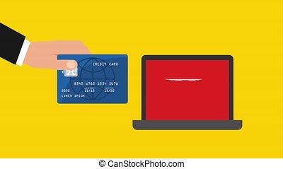 ordinateur portatif, technologie, ecommerce