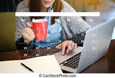 ordine del giorno, promemoria, calendario appuntamento, ...