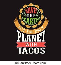 ordstäv, bra, citera, taco, design, tryck