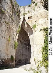 Orecchio di Dionigi, Syracuse - Orecchio di Dionigi,...