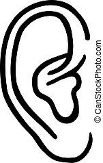orecchio umano