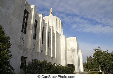 Oregon Capitol Building - The Building where the Government...