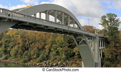 Oregon City Bridge Time Lapse 1080p - Oregon City Bridge is...