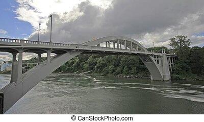Oregon City Bridge Willamette River