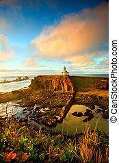 Oregon coast portrait - Portrait of the Cape Arago...