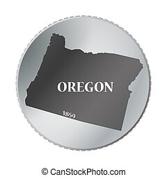 Oregon State Coin