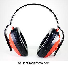 orejeras, protección, oído