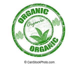 orgânica, selo