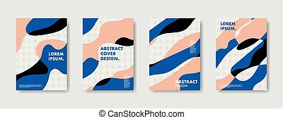 Organic Abstract Background Posters