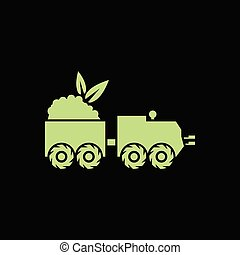 Organic agricultural vehicle