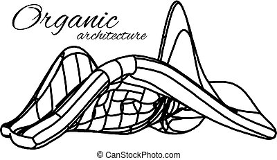 Organic architecture. The concept of unity with nature...