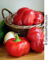 organic bell pepper paprika