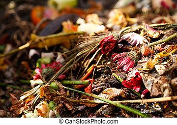 Organic biological kitchen waste