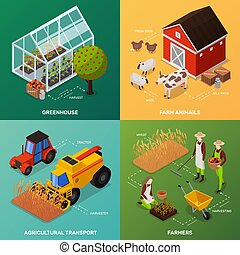 Organic Farming Design Concept