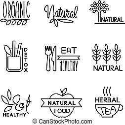 Organic Food and Drink Label