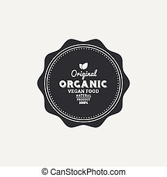 Organic food label