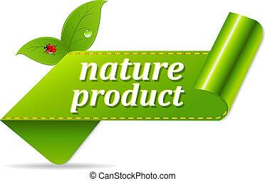 Organic Green Tags