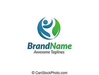 Organic Health Care Medical Logo