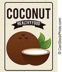 organic healthy food design