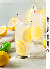 Organic Homemade Fresh Squeeze Lemonade