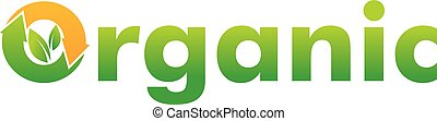 Organic Logo Design Template Vector