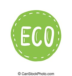 Organic product icon design symbol. Badges, stickers, logo, stamp. Labels for organic, natural, eco products.
