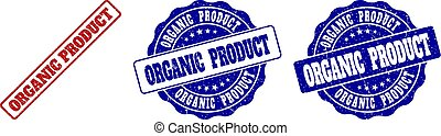 ORGANIC PRODUCT Scratched Stamp Seals
