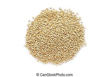 Organic Quinoa seeds.