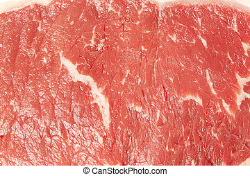 Organic Red Raw Steak Sirloin