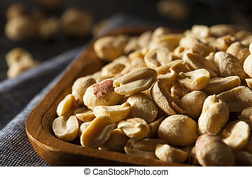 Organic Roasted Salty Peanuts