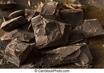 Organic Semi Sweet Dark Chocolate Chunks for Baking