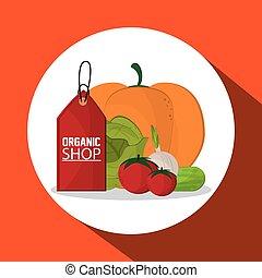 Organic shop design