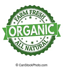 Organic sign or stamp
