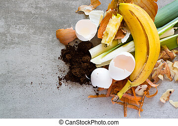 Organic waste to make compost