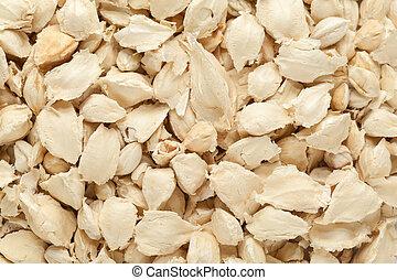 Organic White Moringa seeds.