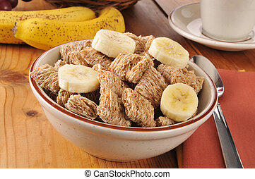 Organic whole wheat cereal