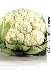 organický, čerstvý, coliflower