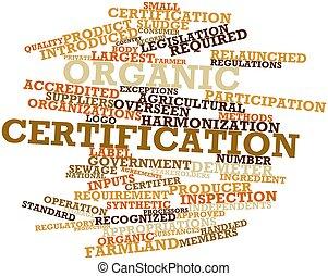 organico, certificazione
